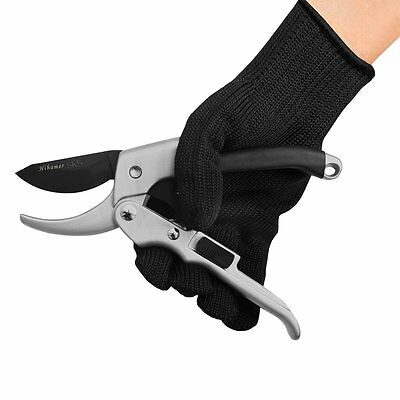 Pro Grade Sharp Pruning Shears Garden Hedge Clippers + Safety Lock & Free Glove