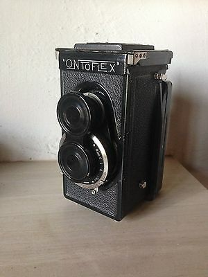 Ontoflex 6x9 Tessar 105 Very Rare Camera Twin Lens
