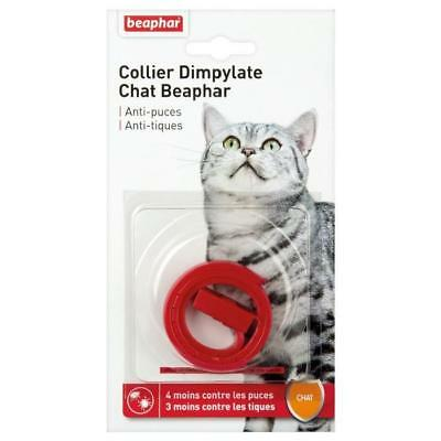 BEAPHAR Collier antiparasitaire - Pour chat