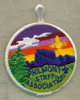 Philmont Staff Association Patch (white loop)