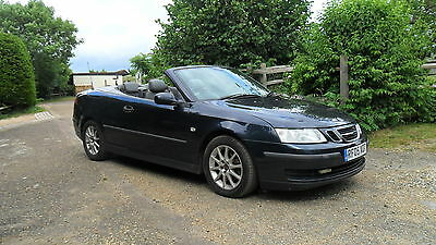 Saab 9-3 Linear Convertible 2005 Manual 2 Owners F/s/h