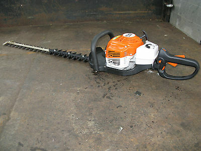 Stihl HS81R hedge trimmer 2013 very low hours