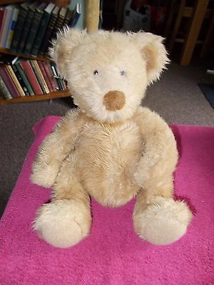 """Gorgeous Russ Berrie Pot Bellied Teddy Bear Large 13"""" Plush Soft Toy Free Uk P&p"""