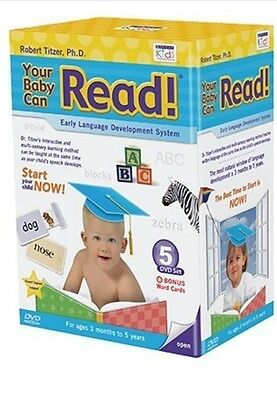 Big Sales Buy Now!!! New Your Baby Can Read / Early Learning DVD Set. RRP £80