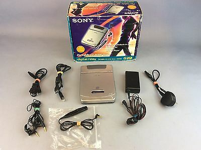 Sony CRX10U Portable CD Player boxed.