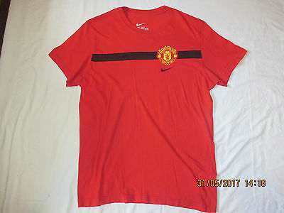 Manchester United Nike Supporters Football Shirt Jersey. Xl