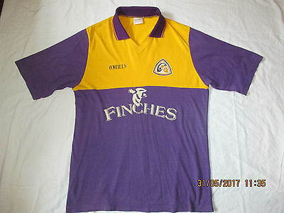 Vintage Rare Wexford Home Finches O'neills Gaa Hurling Football Shirt Jeresy. Xl