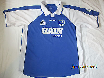 Vintage Waterford 2004 Gain Feeds Goalkeeper Gaa Hurling Football Shirt. Xl