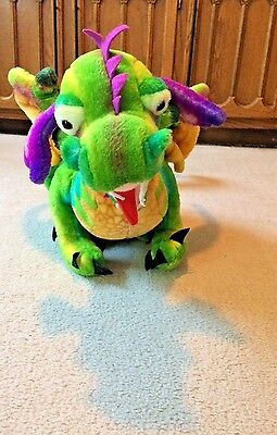 Melissa And Doug Colorful Dragon Plush Over 3 Feet