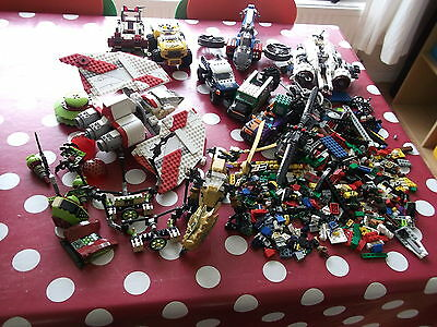 Lego Collection Approx 3 Kg Star Wars Avengers Spiderman Batman