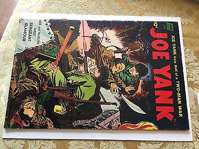 Joe Yank #7 (Standard, 1952) VG+OW Precode War Comic Book