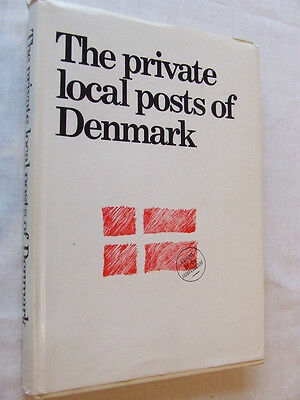 PRIVATE LOCAL POSTS OF DENMARK, By E CHRISTENSEN 1974, EXCELLENT CONDITION