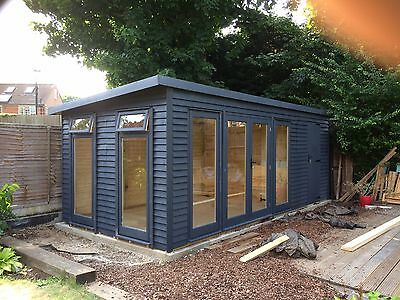 20 X 9 Garden Room Summer House Home Office Annex Man Cave Shed