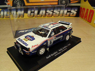 Fly 88276 - Audi Quattro 'Rothmans Livery 1986' - Brand New in Box