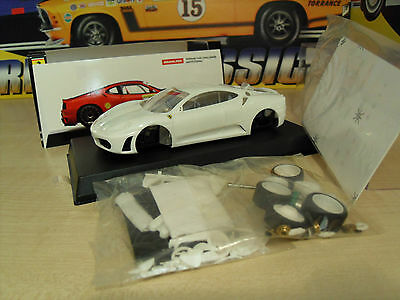 BBR Models Ferrari F430 Slot Car Kit 'White' - Brand New in Box.