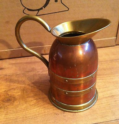 Union Vintage Retro Copper Brass Jug Watering Can Country Kitchen Utensil Deco