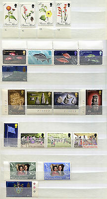 Pitcairn Islands Set of 20 mint MNH 1970-73 stamps - FREE UK POSTAGE