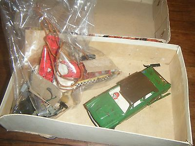Vintage Airfix Slot car and other bits - Spares or repairs