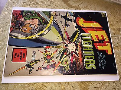 Jet Fighters #7 (Standard, 1953) VG/F OW/CR Precode War Comic Book
