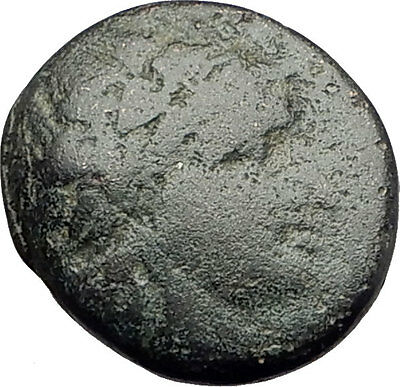 SIDE in PAMPHYLIA 25BC Rare Authentic Ancient Greek Coin APOLLO ATHENA i62366