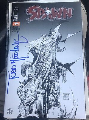 2017 Amazing Las Vegas Comic Con Spawn #275 Exclusive Variant Signed Mcfarlane