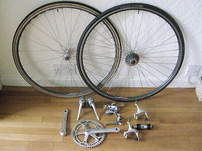 8-Speed Shimano STI 600 Tricolore & SLR groupset with Wolber TX wheels