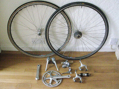 Shimano 600 Tricolore groupset with Wolber TX wheelset