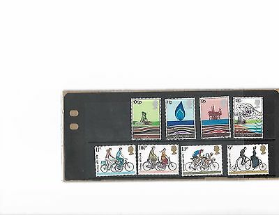 2 sets of 1978 GB commemoratives postage stamps in mint condition