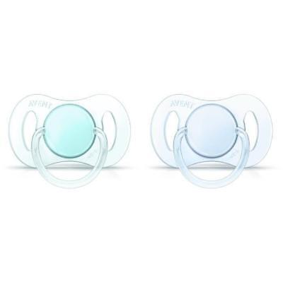 PHILIPS AVENT 2 Sucettes Orthodontiques Silicone 0-2 Mois