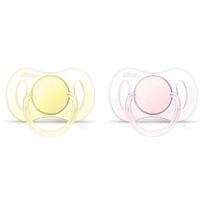 PHILIPS AVENT 2 Sucettes Orthodontiques Silicone - SCF151/02 - 0 a 2 Mois