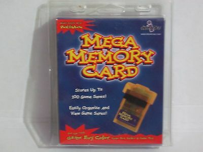Game boy InterAct Mega Memory Card Gameboy Color Pocket rare