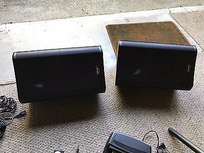 "QSC K12 12"" Active/Powered 2-Way 1000 W DJ PA Speaker Cabinet Pair Used"
