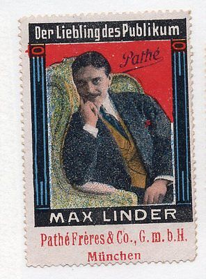 "Movies - Pathe Frere Munich - Alex Linder ""the Audience Favorite"" Poster Stamp"