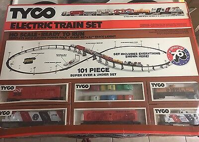 Vintage Tyco HO scale electric train sets, Spirit of '76