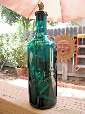 Tall Palmer Perfume Bottle With Stopper