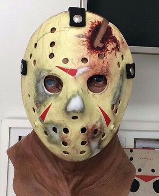 Jason Voorhees Friday the 13th Part 4 Screen Accurate Replica Hockey Mask