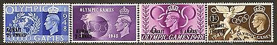 Bahrain Mint NH Postage Stamps Full Set of 4. SC# 64 - 67, SG# 63 - 66. Olympics