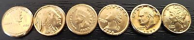 6 Number Mini United States Coins