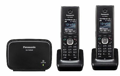 Panasonic KX-TGP600 VoIP SIP DECT VoIP Cordless Phone System with 2 Handsets