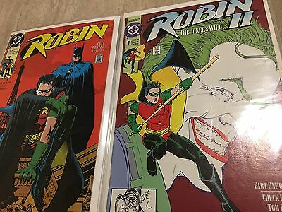 Robin (1-5) and Robin II (1-4) (complete lot 1991 Limited Series ) *HIGH GRADE*