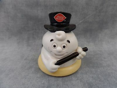 Vintage DAIRY QUEEN Ice Cream Soft Serve Figure Figurine Top Hat Cape Wand
