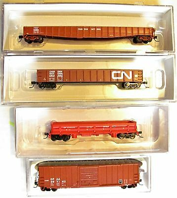 NIB N Scale Canadian National and Canadian Pacific Freight Car Lot