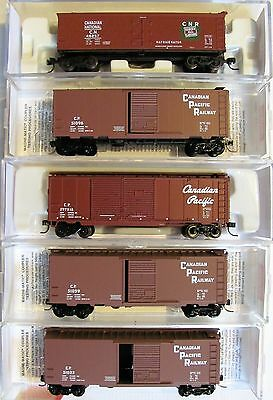 NIB N Scale Canadian National & Canadian Pacific freight car Lot