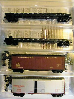 NIB N Scale Canadian Pacific freight car Lot