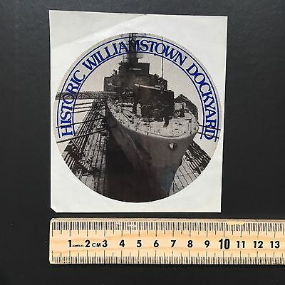 Rare Sticker Collection Sticker Number 23 Australian Williamstown Dockyard