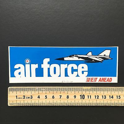 Rare Sticker Collection Sticker Number 28 Australia Air Force
