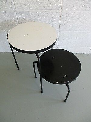 Luther Conover California Modern Stools Tables mid century tony paul mccobb