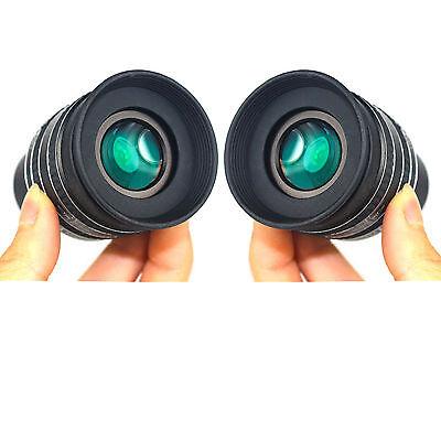 2X New 1.25inch SWA 58 Degree 4mm Planetary Eyepiece for Astronomical Telescope