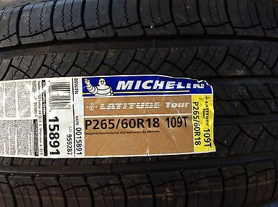 Michelin Tire  265/60R 18