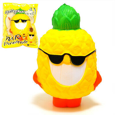 15cm Squishy Cool Jumbo Pineapple Squeeze Toy Super Slow Rising